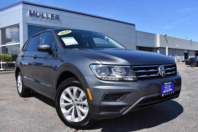 Pre-Owned 2019 Volkswagen Tiguan 2.0T S AWD