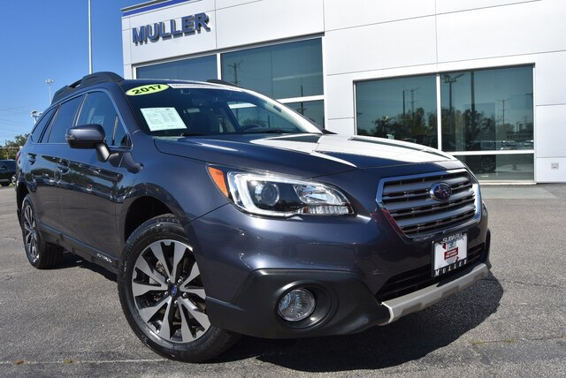 Pre-Owned 2017 Subaru Outback 3.6R Limited Nav Roof Eyesight