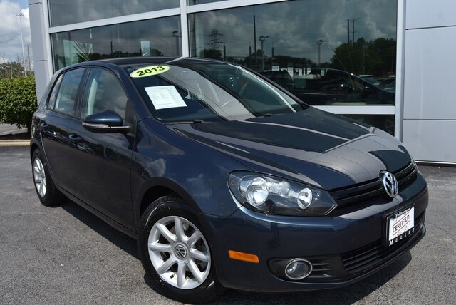 Certified Pre-Owned 2013 Volkswagen Golf 2.0L TDI 4-Door