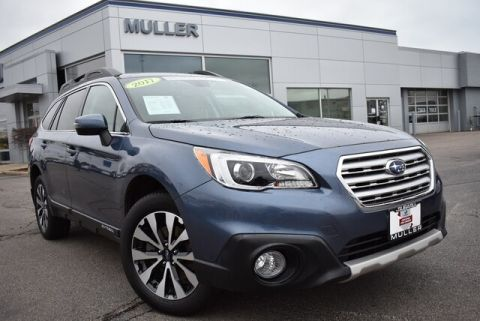 Pre-Owned 2017 Subaru Outback 2.5i Limited Nav Roof Eyesight