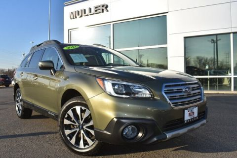 Pre-Owned 2017 Subaru Outback 3.6R Limited Nav, Roof, Eyesight