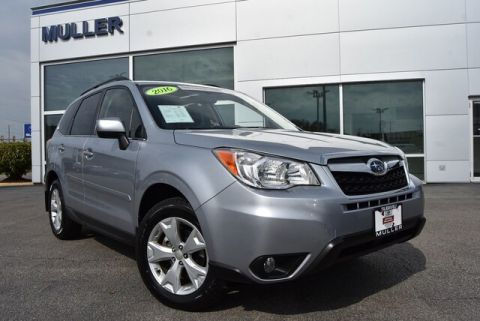 Pre-Owned 2016 Subaru Forester 2.5i Limited Nav Sunroof