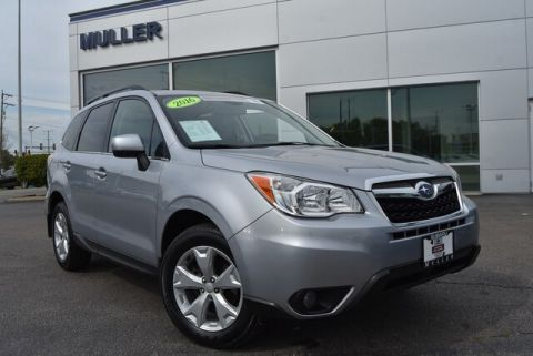 Pre-Owned 2016 Subaru Forester 2.5i Limited Nav Roof Eyesight
