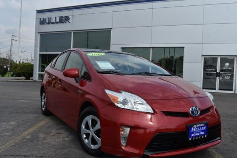 Pre-Owned 2013 Toyota Prius Three w/ Solar Roof Package